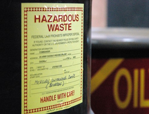 Developing a Customized Hazardous Waste Tracking System